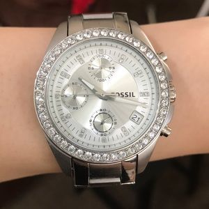 Fossil | silver stainless steel watch